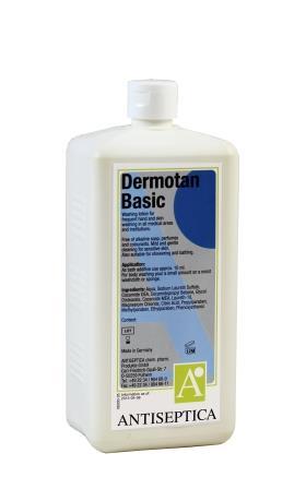 Skin cleansing/caring - Dermotan basic